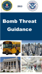 OBP_DHS DOJ Bomb Threat Guidance Image