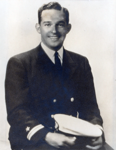 Richard Janvey's father, Abraham, served on the USS Essex during World War II.