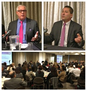 "NYPD Dep. Commissioner John Miller and FBI Asst. Director in Charge of the NY office of the FBI were among to stellar presenters at ""Stepping up our game""."